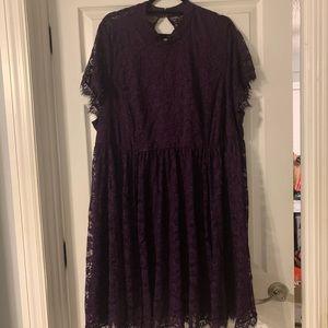 Torrid Dress Plum NWT